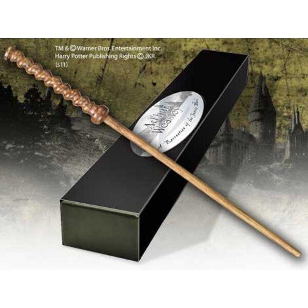Harry Potter réplique baguette de Arthur Weasley (édition personnage)