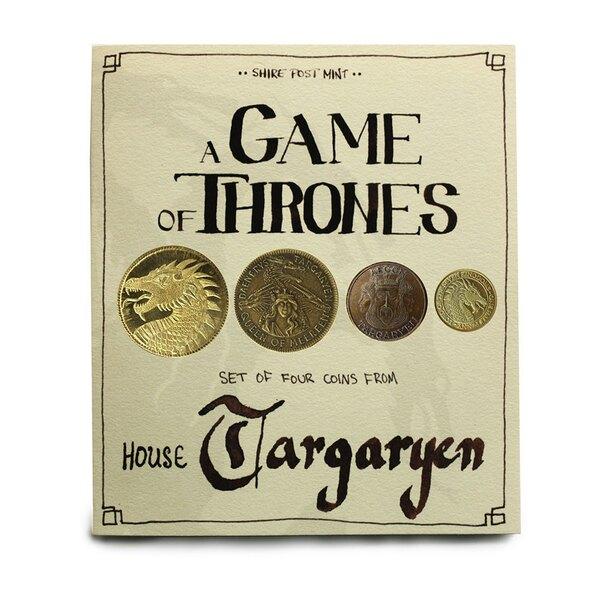 Le Trône de fer pièces de collection House Targaryen