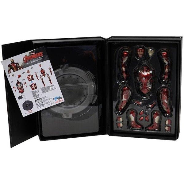 Avengers L'Ère d'Ultron statuette PVC Action Hero Vignette 1/9 Mark XLIII Special Edition 20 cm