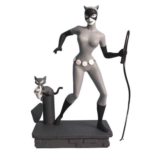 Batman The Animated Series statuette Femme Fatales Black & White Catwoman EU Exclusive 23 cm