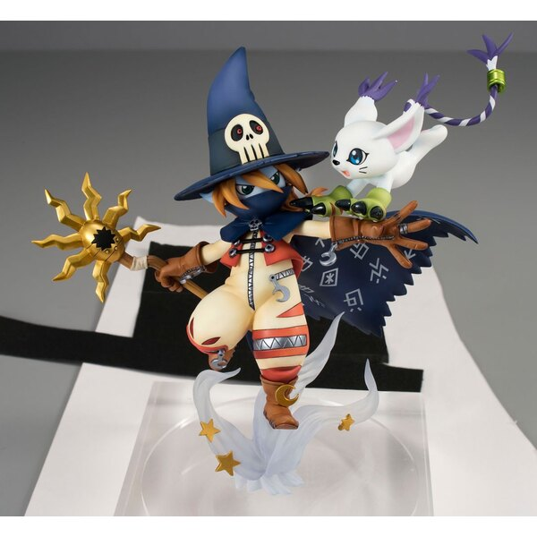 Digimon Adventure G.E.M. Series statuette PVC Wizardmon & Tailmon 18 cm