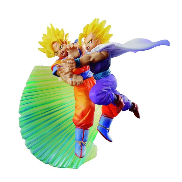 Dragonball Z statuette Dracap Memorial Kamehameha Goku & Gohan 8 cm