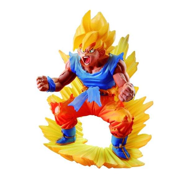 Dragonball Super statuette Dracap Memorial 02 Super Saiyan Son Goku 10 cm