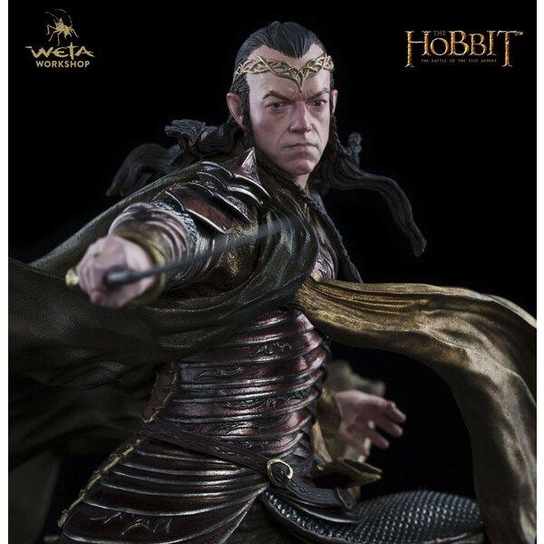 Le Hobbit La Bataille des Cinq Armées statuette 1/6 Lord Elrond at Dol Guldur 29 cm