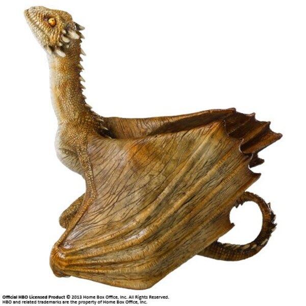 Le Trône de fer sculpture Viserion Baby Dragon 12 cm