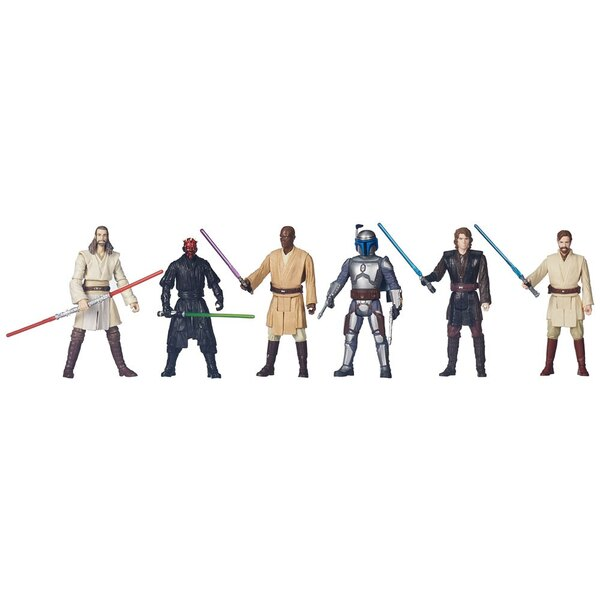 Star Wars Battle Packs assortiment packs 6 figurines 10 cm Epic Battles 2015 Exclusive (6)
