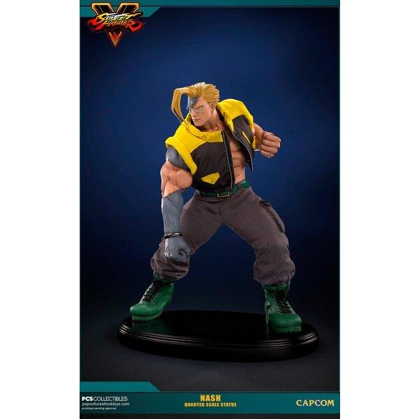 Street Fighter V statuette 1/4 Nash 43 cm