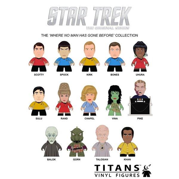 Star Trek TOS présentoir trading figures Where No Man Has Gone Before Collection Titans 8 cm (20)