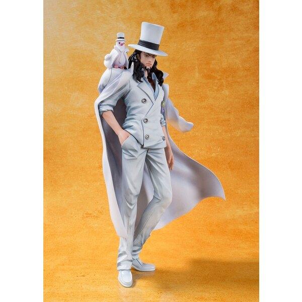 One Piece Film Gold statuette PVC FiguartsZERO Rob Lucci 16 cm