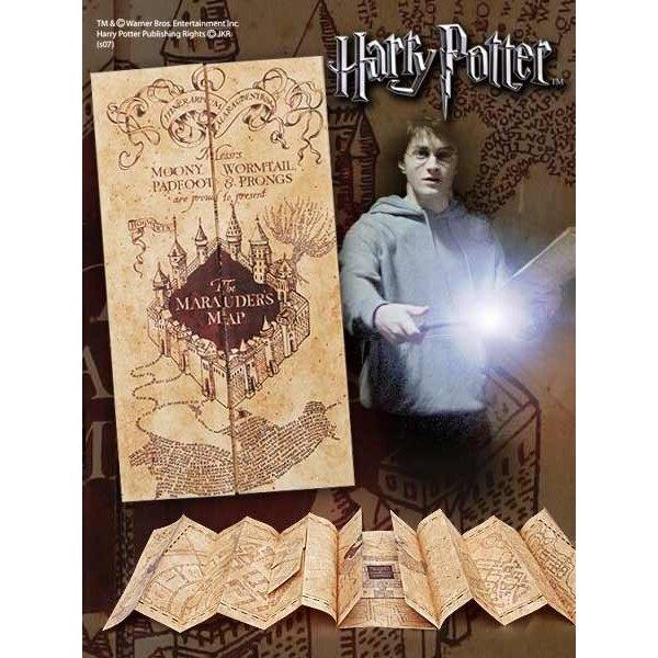 Harry Potter réplique 1/1 Carte du Maraudeur