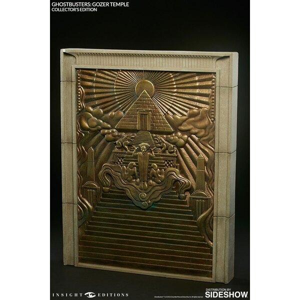 SOS Fantômes réplique Gozer Temple & livre Collectors Edition *ANGLAIS*