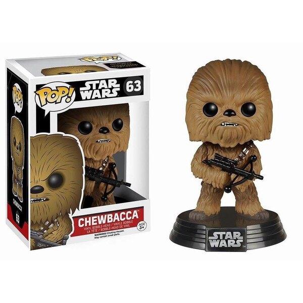 Star Wars Episode VII POP! Vinyl Bobble Head Chewbacca 10 cm