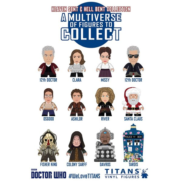 Doctor Who présentoir trading figures 12th Doctor Heaven Sent & Hell Bent Titans 8 cm (20)