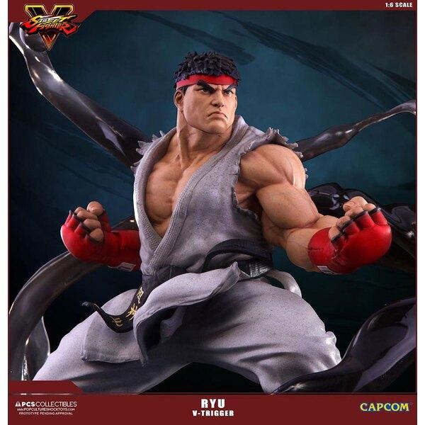 Street Fighter V statuette 1/6 Ryu V-Trigger 32 cm