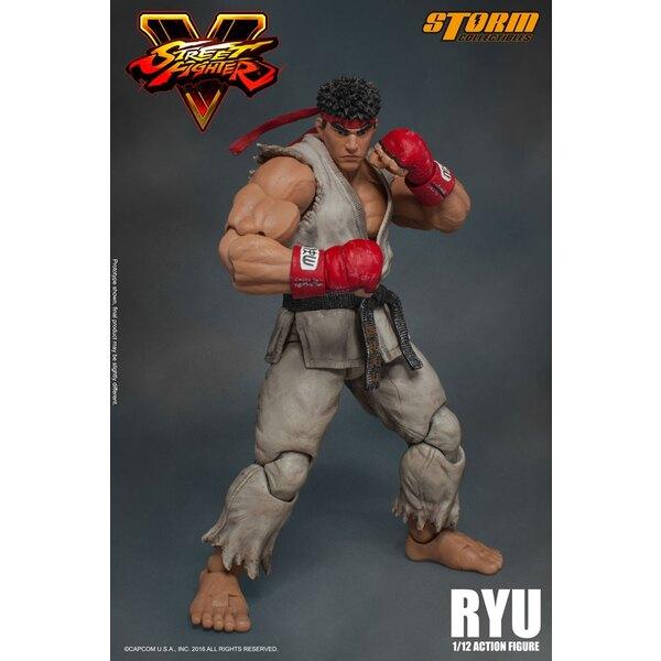 Street Fighter V figurine 1/12 Ryu 18 cm
