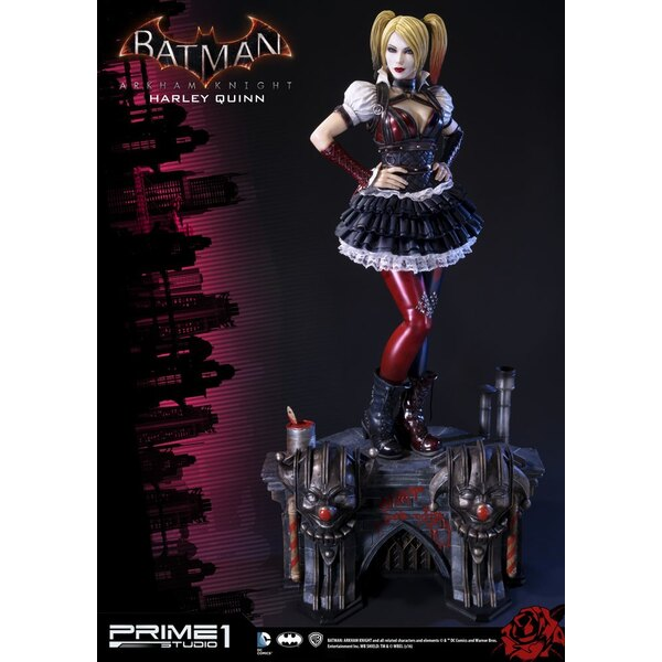 Batman Arkham Knight assortiment statuettes 1/3 Harley Quinn & Harley Quinn Exclusive 73 cm (3)