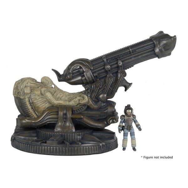 Alien réplique mousse Fossilized Space Jockey 46 cm