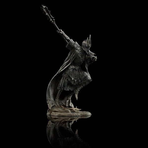 Le Hobbit La Bataille des Cinq Armées mini statuette Dol Guldur 1/30 Ringwraith of Forod 8 cm