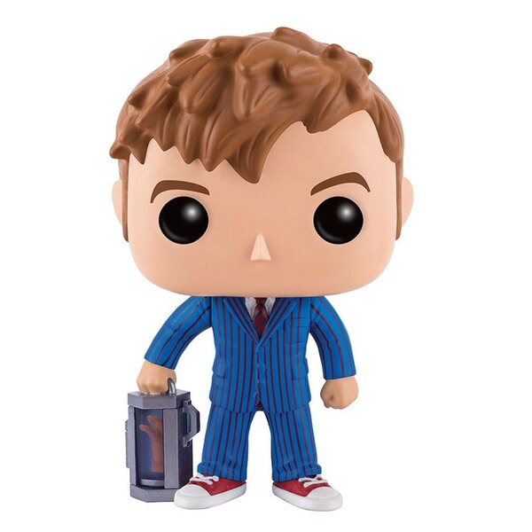 Doctor Who Figurine POP! Television Vinyl 10th Doctor With Hand 9 cm