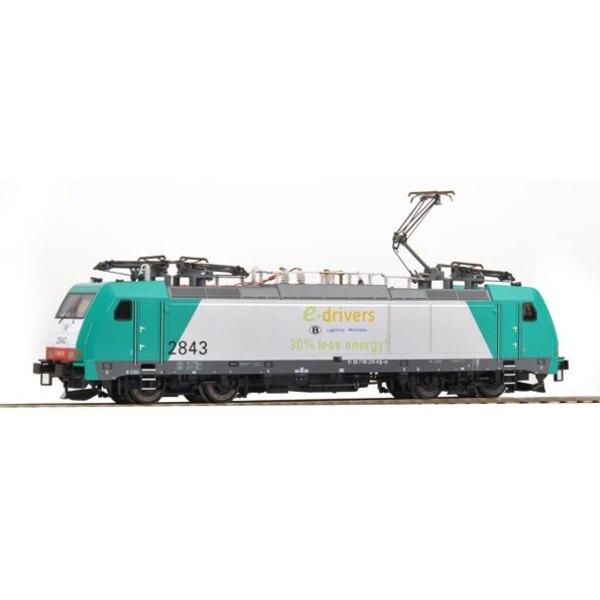LOCO E 2843 E DRIVERS SNCB