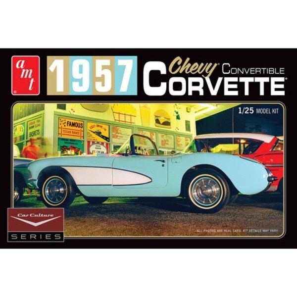 Cindy Lewis Voiture Culture - 1957 Chevy Corvette Convertible (Blanc)