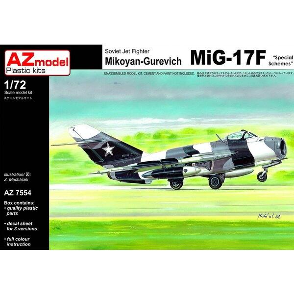Mikoyan MiG-17F régimes spéciaux.45e Experimental Squadron, polonaise Armée de l'Air, 1993. Les marques spéciales de dernière v