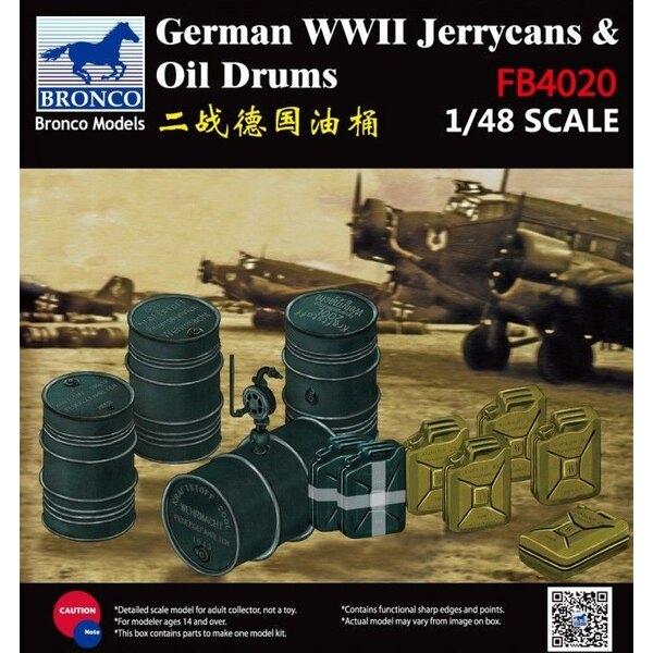 Jerry Can Fuel Drum allemand de la Seconde Guerre mondiale