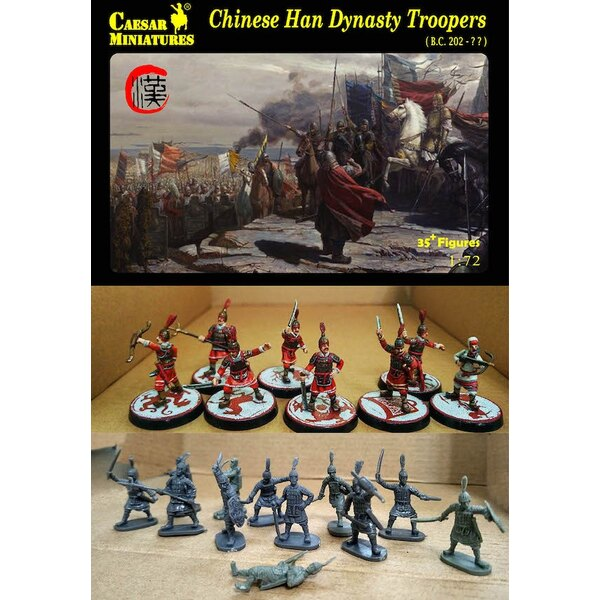 Chinois troopers dynastie Han