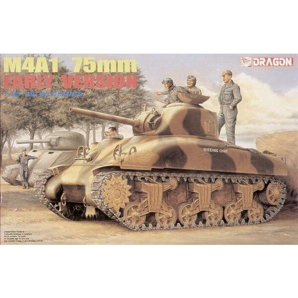 M4A1 Sherman 75mm début cast version coque