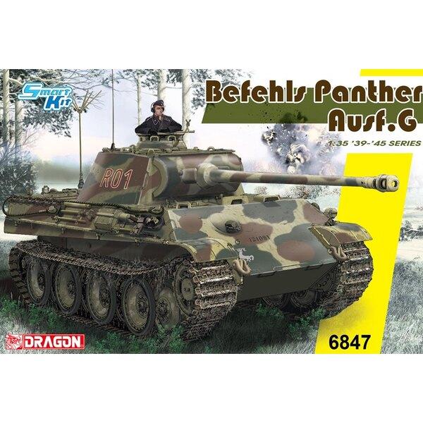 Pz.Bef.Wg.V Panther Ausf.G La panthère de 45 tonnes a été l'un des réservoirs les plus importants utilisés par l'Allemagne penda