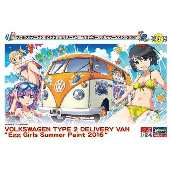 TYPE Volkswagen 2 Livraison Van Egg Summer Girls Peinture 2016