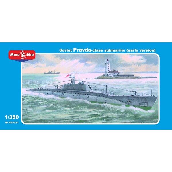 Soviétique Pravda classe sous-marin (version précoce)