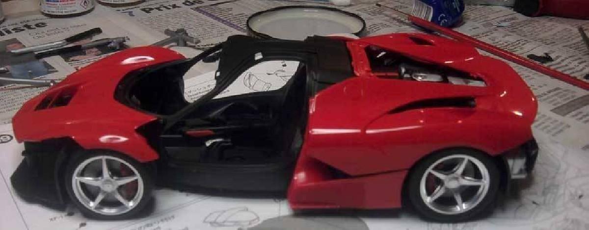 Maquette automobile