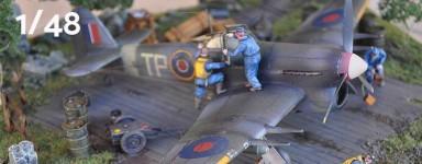 1:48 aircraft model kits