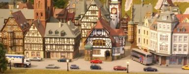 Model train landscapes