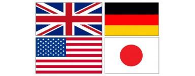 Maquetas de barco por país