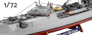 Maquettes de bateaux 1/72ème
