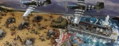 Maquetas de D-Day
