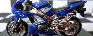 Die cast motorcycles
