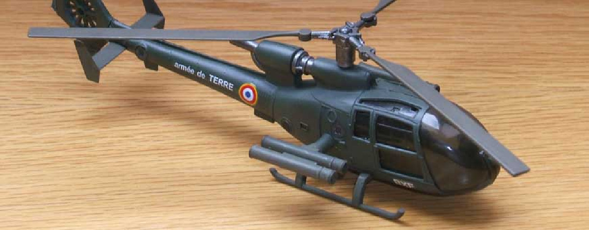 Die-cast helicopters