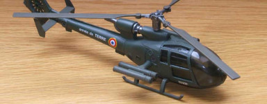 Diecast helicopter models (ready made)