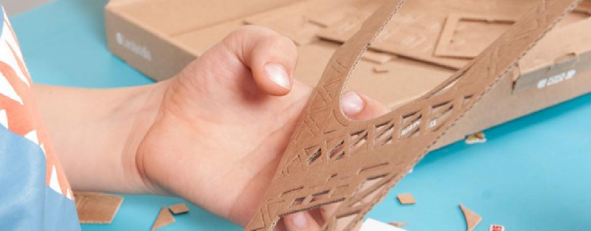 Cardboard modelkits