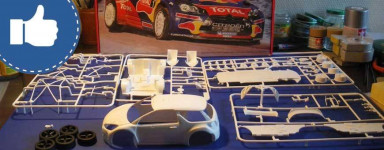 Our selection of model kits