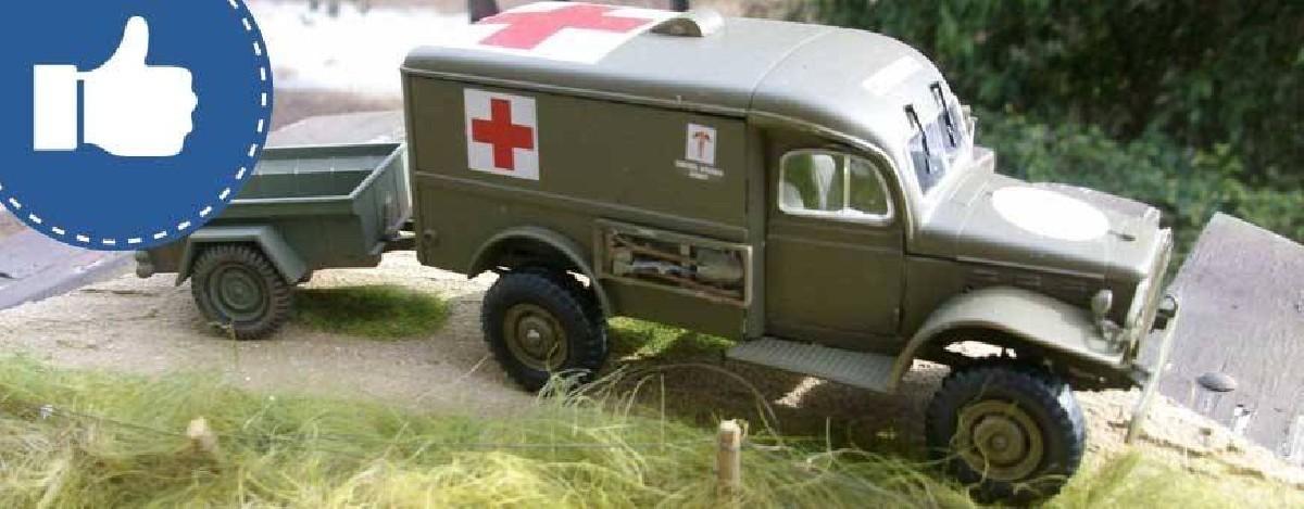 Sélection véhicules militaires
