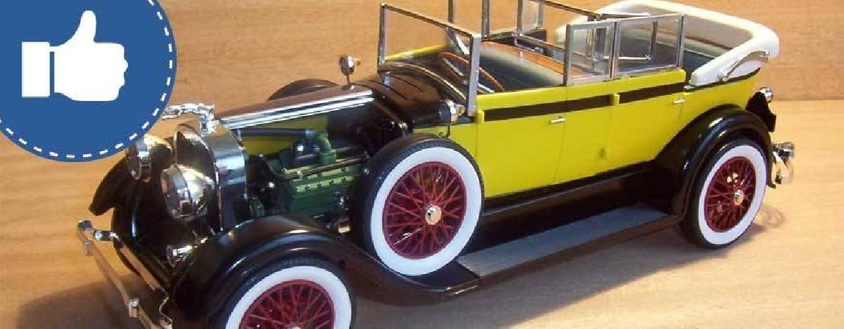 Sélection maquettes voitures