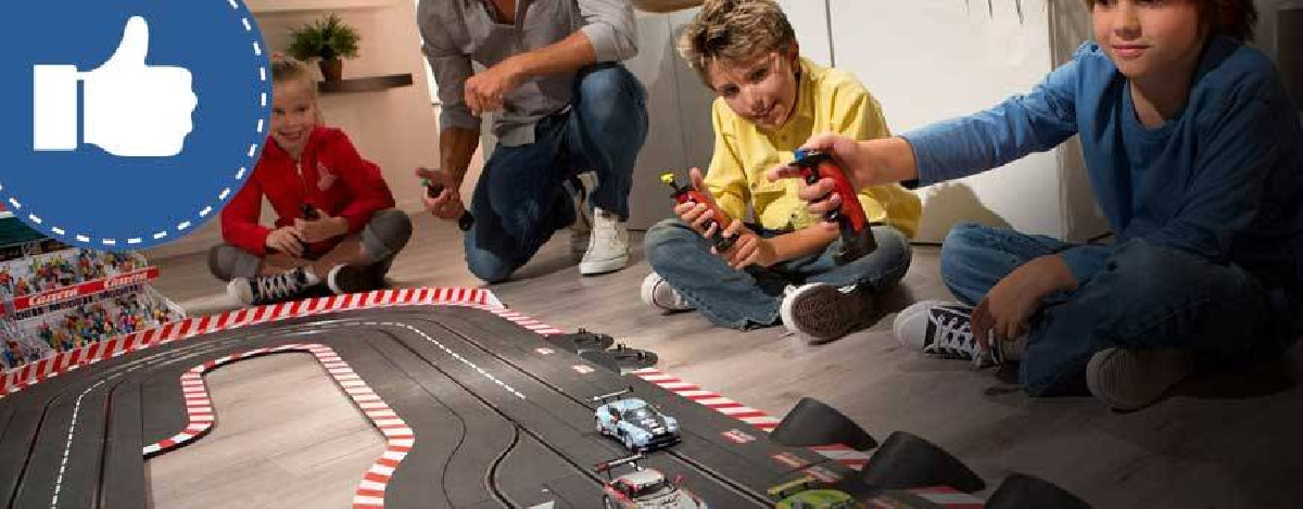 Sélection de circuits de voitures scalextric et carrera - 1001hobbies