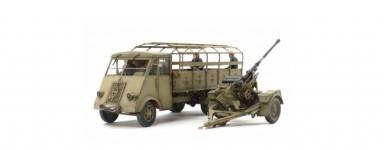 Maquettes de canons