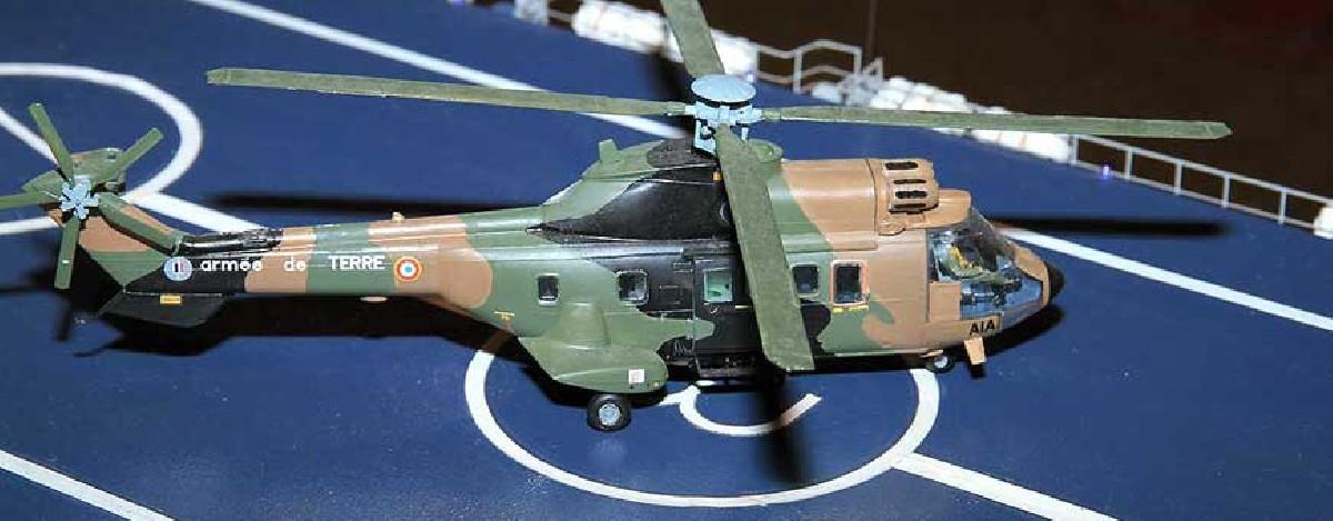 Maquetas de helicópteros