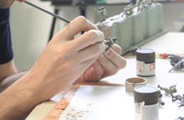 Atelier peinture de figurines
